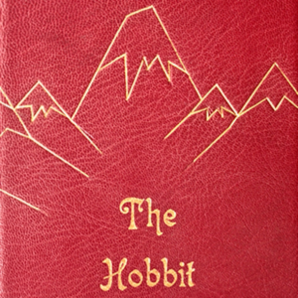 bottega dei gozzi legatoria artistica The Hobbit cover